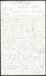 Arthur McKinstry to Mother