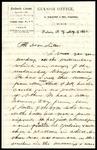 Willard and Winthrop McKinstry to Mother of Arthur McKinstry