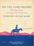 On The Lone Prairee