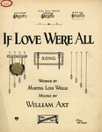 If Love Were All