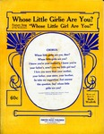 Whose Little Girlie Are You?