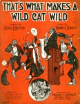 That's what makes a wild cat wild
