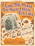 I Like The Place So Much I Hate To Leave : Coon Song