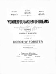 Wonderful garden of dreams