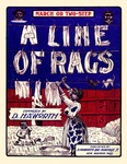 A line of rags