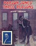 Parson Jones' three reasons