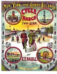 New York and Coney Island cycle march