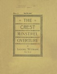 The Crest Minstrel Overture No. 1 Dear Old Ireland
