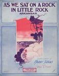 As we sat on a rock, in Little Rock, Arkansaw