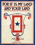 For It Is My Land And Your Land