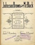 Johnson Brown and Mr. Black