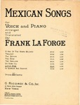 Mexican Songs (Little Star)