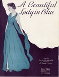 A Beautiful Lady In Blue by J. Fred Coots