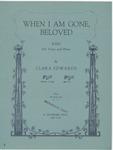 When I Am Gone, Beloved'