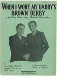 When I Wore My Daddy's Brown Derby