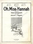 Oh Miss Hannah