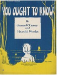 You Ought To Know