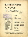 Somewhere A Voice Is Calling