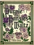 Purple Pansies Waltz