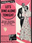 Let's Dine Alone Tonight