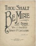 Thou Shalt Be Mine
