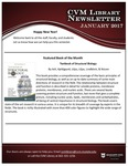 January 2018 CVM Library Newsletter