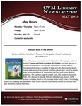 May 2019 CVM Library Newsletter by Mississippi State University