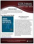 July 2015 CVM Library Newsletter
