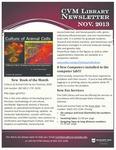 November 2013 CVM Library Newsletter