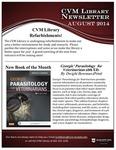 August 2014 CVM Library Newsletter