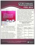 February 2014 CVM Library Newsletter