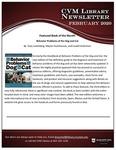 February 2020 CVM Library Newsletter
