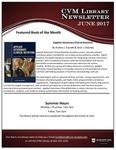 June 2017 CVM Library Newsletter