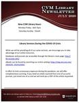 July 2020 CVM Library Newsletter
