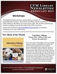 February 2015 CVM Library Newsletter