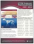 December 2012 CVM Library Newsletter