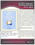 October 2012 CVM Library Newsletter