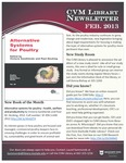 March 2014 CVM Library Newsletter