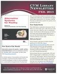 February 2013 CVM Library Newsletter