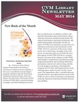 May 2014 CVM Library Newsletter