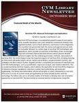 October 2018 CVM Library Newsletter