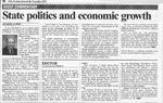 State Politics and economic growth