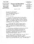 Letter, Bob Bergland, Secretary of Agriculture from David R. Bowen, June 22, 1978
