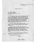 Letter with Press Release, President Jimmy Carter from David R. Bowen, August 15, 1978