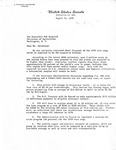 Letters to Secretary of Agriculture, Bob Bergland August 21, 1978