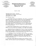 Letter, David R. Bowen from Congressman John Breaux, May, 10 1982 with Forwarded Letter to John Breaux from Alvin Paul Drischler, April 14, 1982