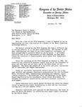 Letter, David R. Bowen from Congressman Clement J. Zablocki, December 29, 1982 by The office of Congressman David R. Bowen