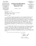 Letter, Alfred E. Kahn from David R. Bowen, August 7, 1980