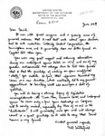 Letters Exchanged Between William H. Satterfield and David R. Bowen, June and August, 1982