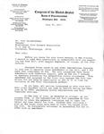 Letter, John Delahoussaye from David R. Bowen, July 27, 1977